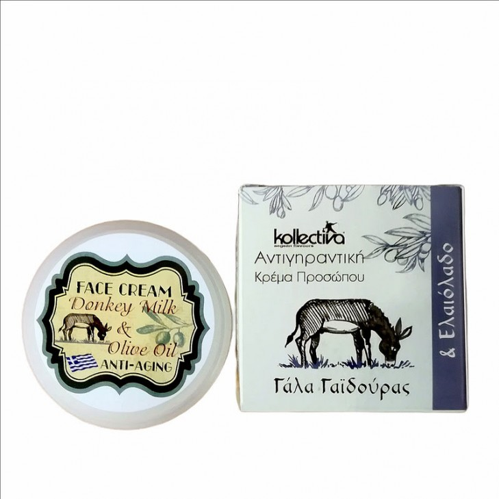 Kollectiva Antiaging Face Cream with Donkey Milk and Olive Oil (50ml)