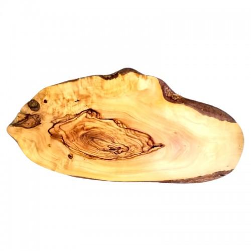 Choping wood irregular shape 38-42cm from olive wood handmade